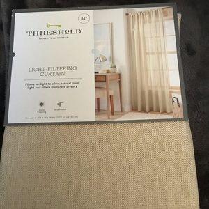 Threshold Light Filtering Curtain Panel